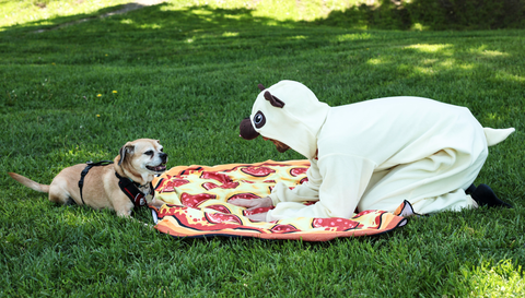Father's Day Pug w/ Dad - Pug Kigurumi