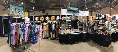 Kigurumi.ca Calgary Comic & Entertainment Expo Booth