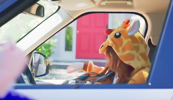 Meghan Trainor Wears Giraffe Kigurumi Onesie in Music Video Me Too
