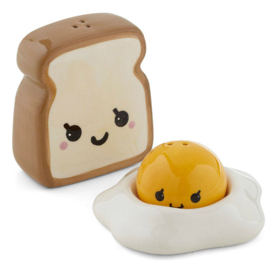 Egg and Toast Salt & Pepper Shakers