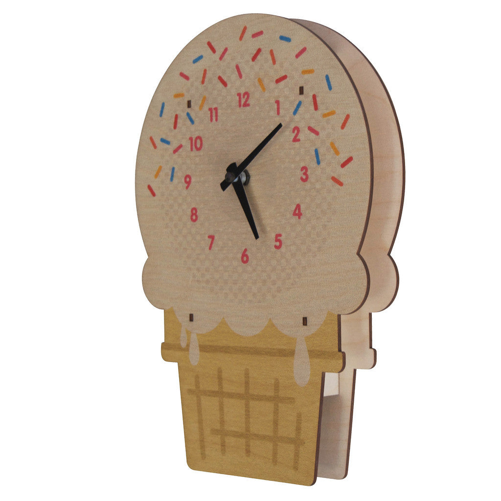 Ice Cream Wall Clock