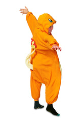 Kids Charmander Pokémon Kigurumi Ages 5-9