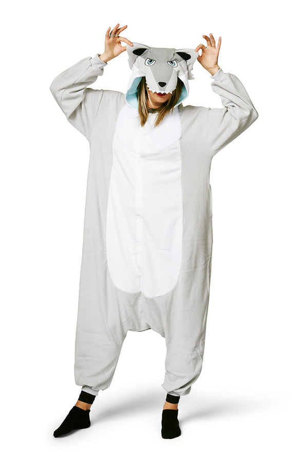 Ghost Wolf Kigurumi X-Tall