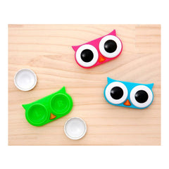 Wide-eyed Owl Contact Lens Case