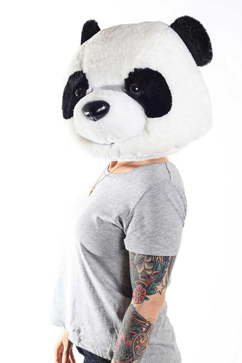 Sazac Giant Panda Head Animal Costume Mask