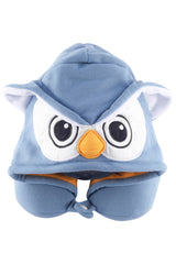 Owl Kigurumi Neck Pillow Hoodie Accessory Apparel