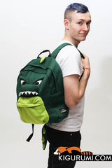 Dinosaur Kigurumi Animal Bag Backpack Sazac