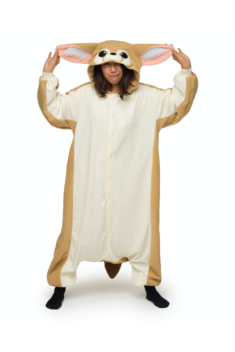 Fennec Fox Animal Kigurumi Adult Onesie Costume Pajamas Main Tertiary