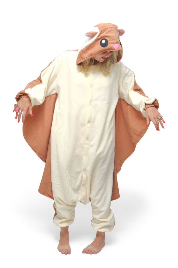 Flying Squirrel Animal Kigurumi Adult Onesie Costume Pajamas Main