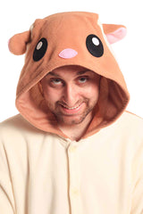 Flying Squirrel X-Tall Animal Kigurumi Adult Onesie Costume Pajamas Hood