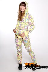 Hello Kitty Yellow Sanrio Tracksuit 2-Piece Apparel Set