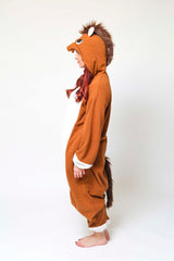 Horse Onesie Kigurumi Animal Costume Adult Pajamas