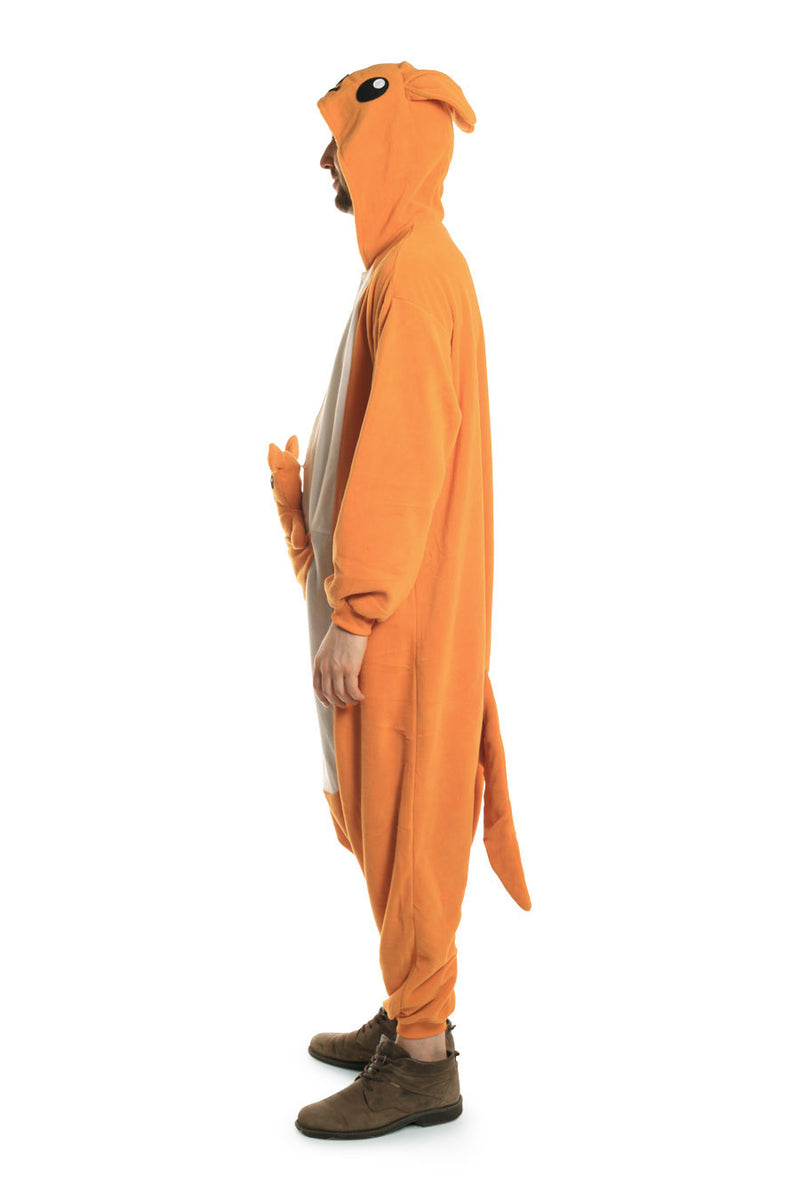 Kangaroo X-Tall Animal Kigurumi Adult Onesie Costume Pajamas Side