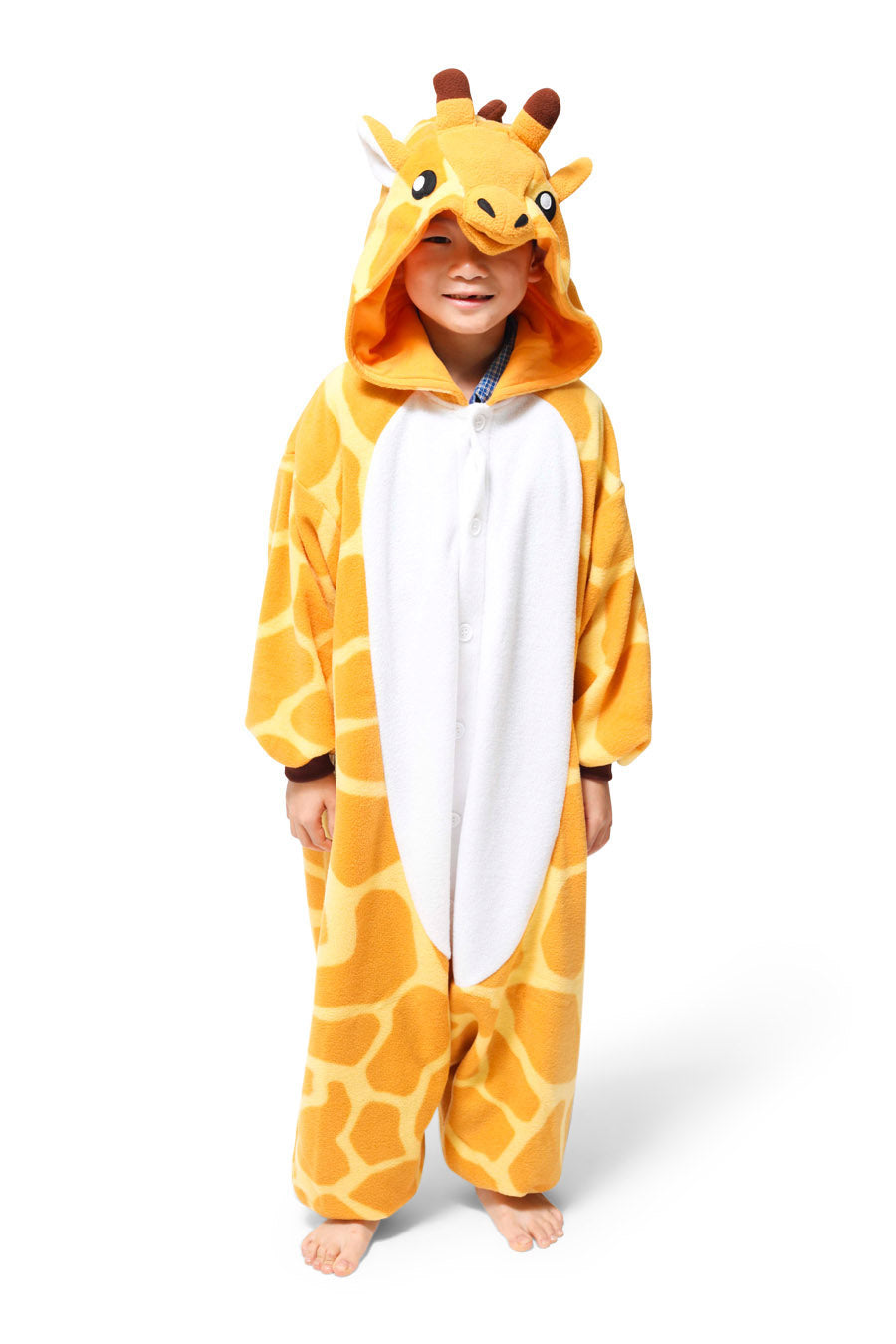 Kids Giraffe Animal Kigurumi Onesie Costume Pajamas Main 110cm