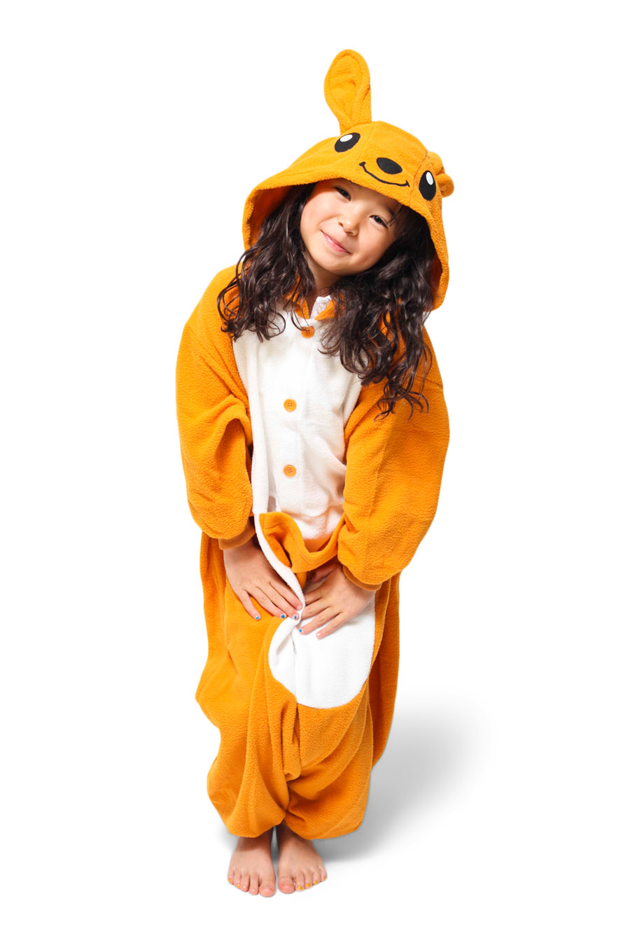 Kids Kangaroo Animal Kigurumi Onesie Costume Pajamas Main 130cm