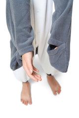 Kids Penguin Animal Kigurumi Onesie Costume Pajamas Details Mitts 110cm