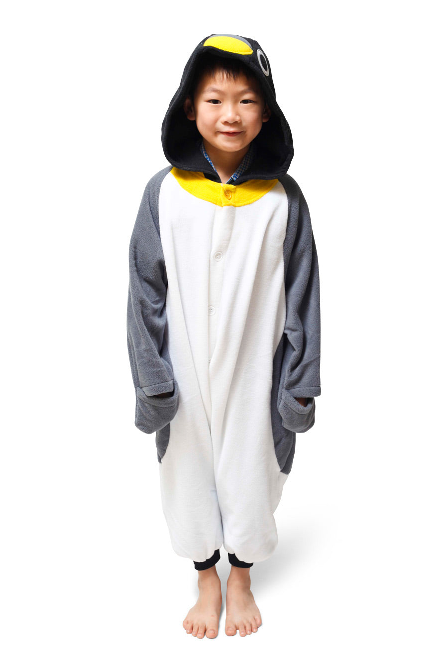 Kids Penguin Animal Kigurumi Onesie Costume Pajamas Main 110cm