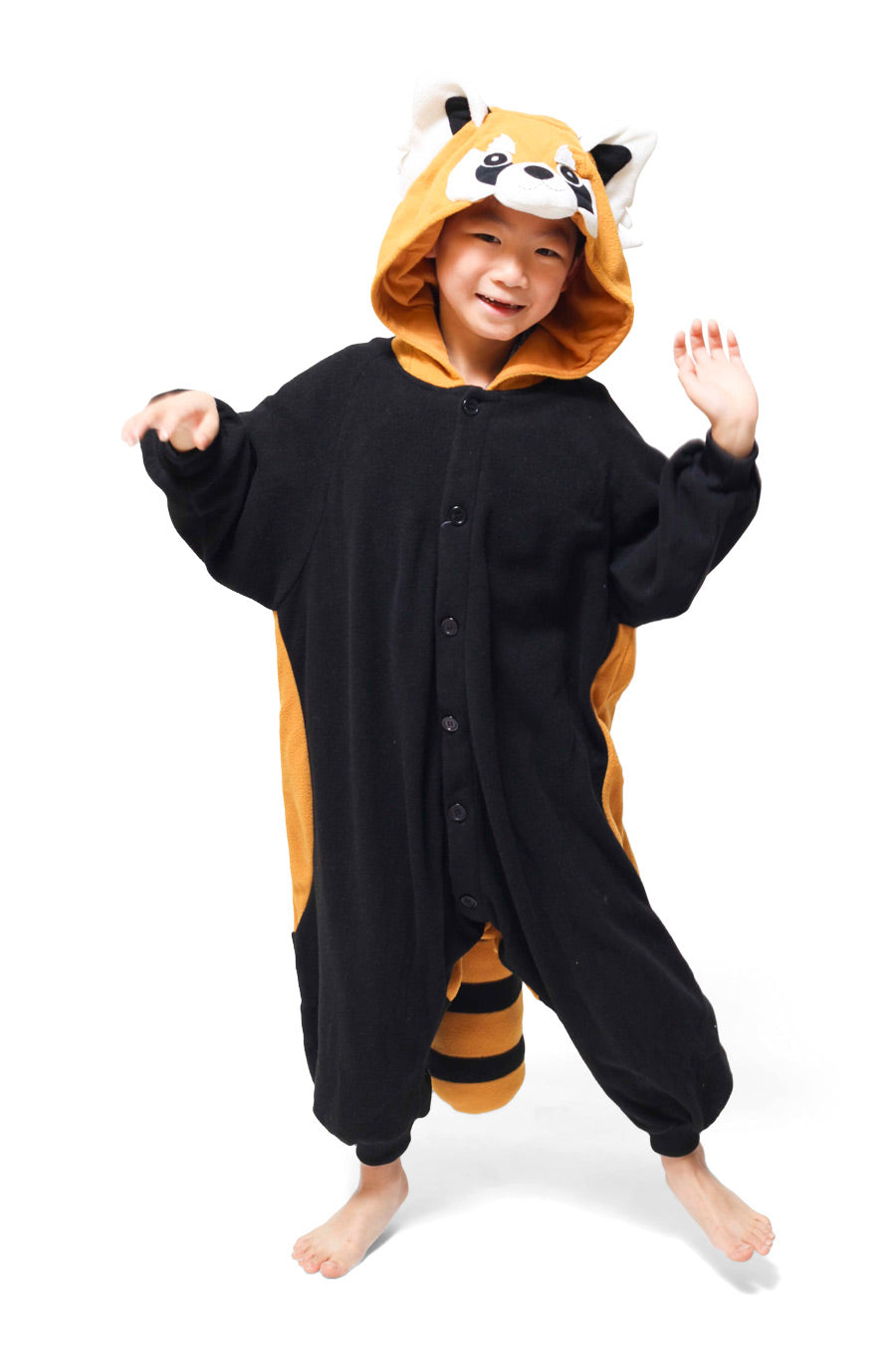 Kids Red Panda Animal Kigurumi Onesie Costume Pajamas Main 110cm