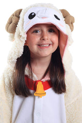 Kids Sheep Animal Kigurumi Onesie Costume Pajamas Hood 130cm