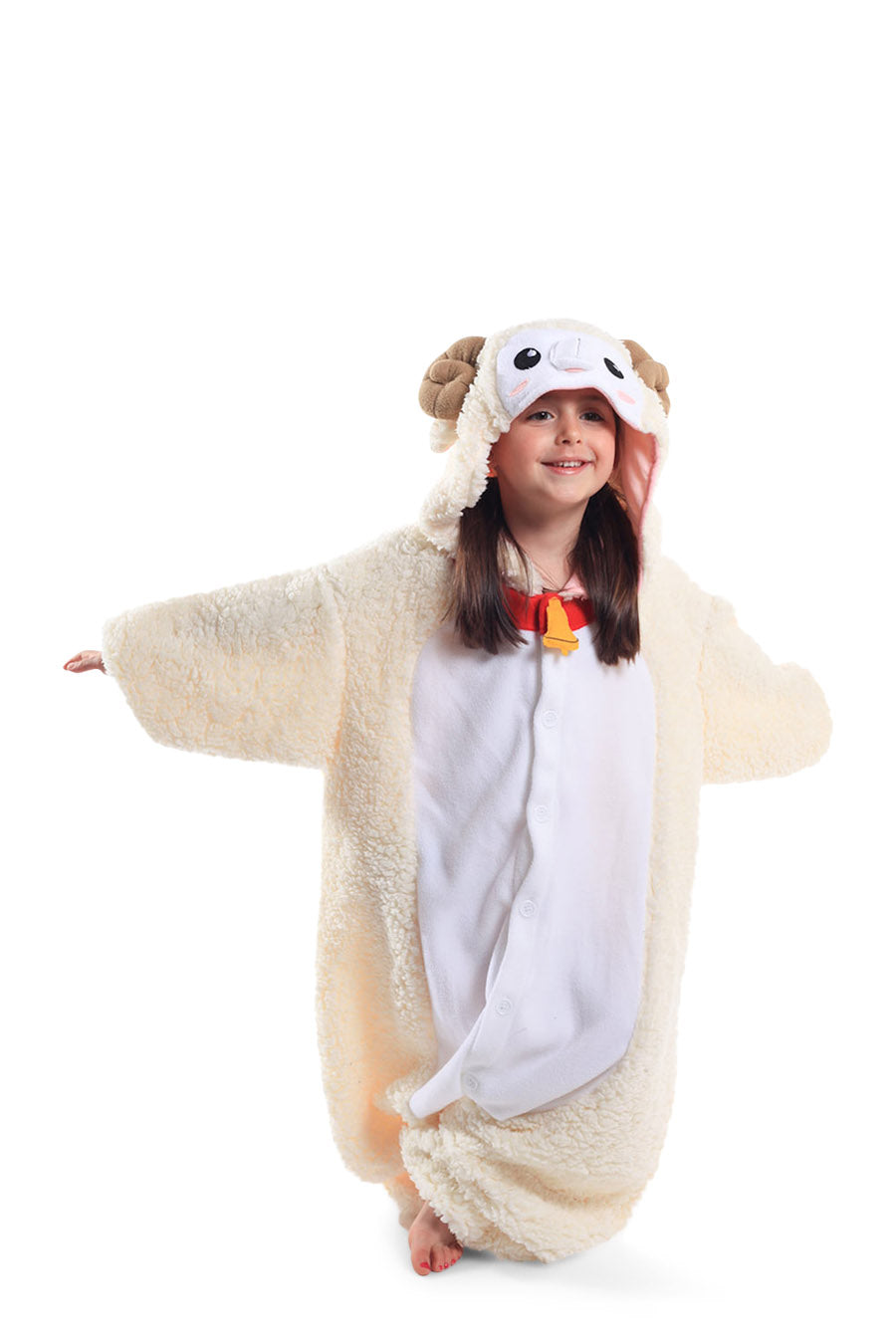 Kids Sheep Animal Kigurumi Onesie Costume Pajamas Main Seconary 130cm