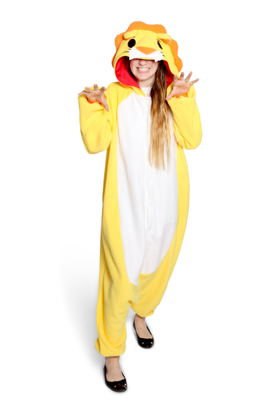 Lion Animal Kigurumi Adult Onesie Costume Pajamas Main