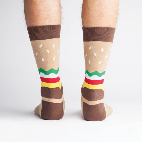 Yummy Burger Crew Socks