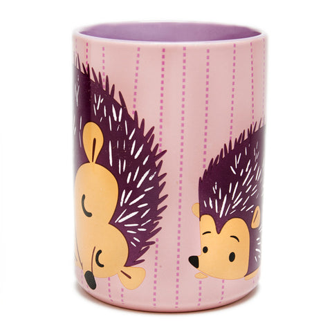 Pink Hedgehog Mug
