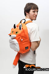 Mister Fox Kigurumi Animal Bag Backpack Sazac