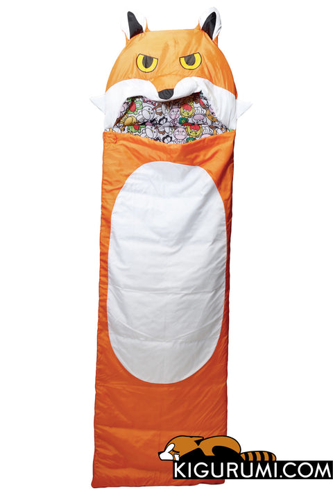 Mister Fox Sleeping Bag Kigurumi Camping One Size Adult
