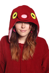 Octopus Animal Kigurumi Adult Onesie Costume Pajamas Hood