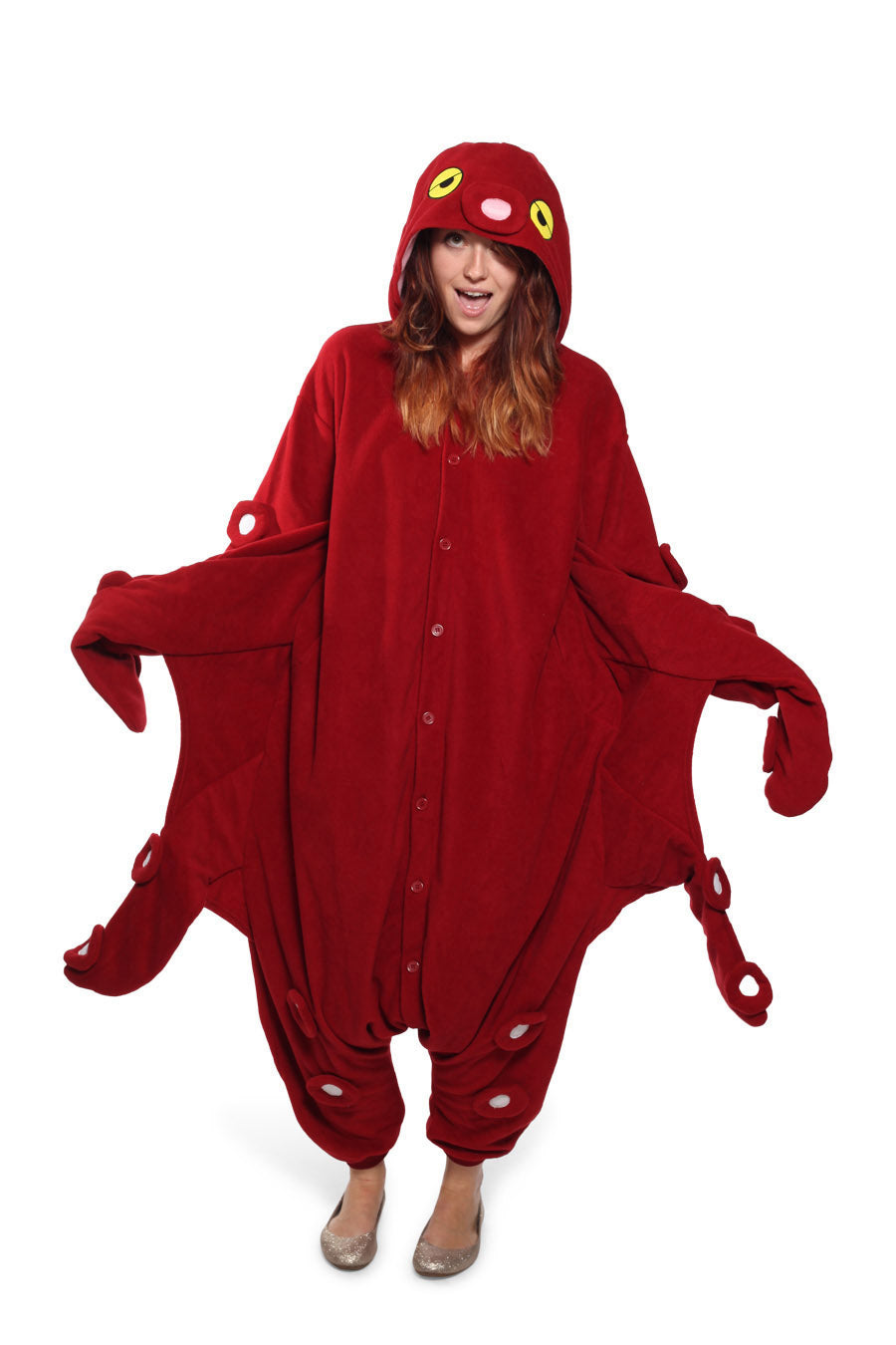 Octopus Animal Kigurumi Adult Onesie Costume Pajamas Main