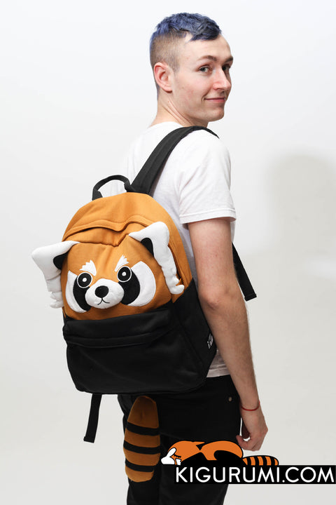 Red Panda Kigurumi Animal Bag Backpack Sazac