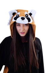 Red Panda 2529 Fleece Pijama Kigurumi Costume