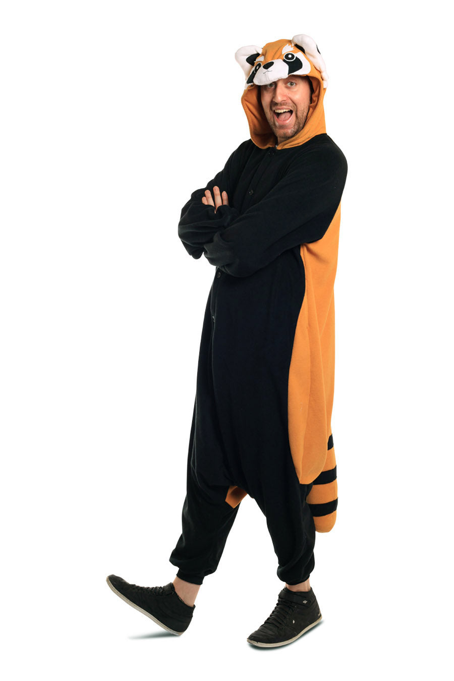 Red Panda X-Tall Animal Kigurumi Adult Onesie Costume Pajamas Main