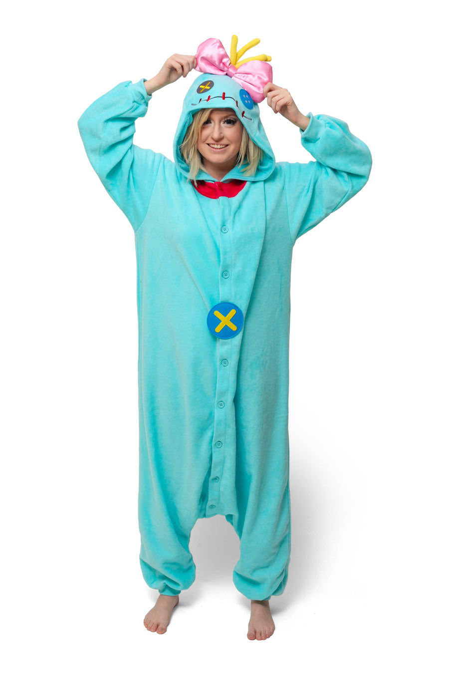 Scrump the Doll Character Kigurumi Adult Onesie Costume Pajamas Main
