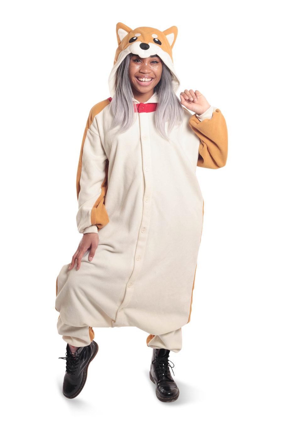 Shiba Dog Animal Kigurumi Adult Onesie Costume Pajamas Main