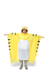 Fierce Tiger Rain Poncho