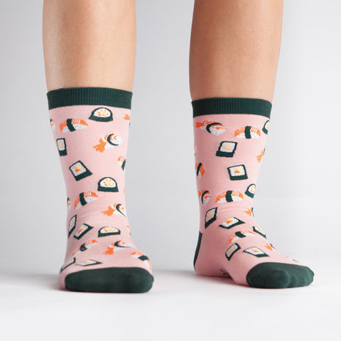 Yummy Sushi Crew Socks
