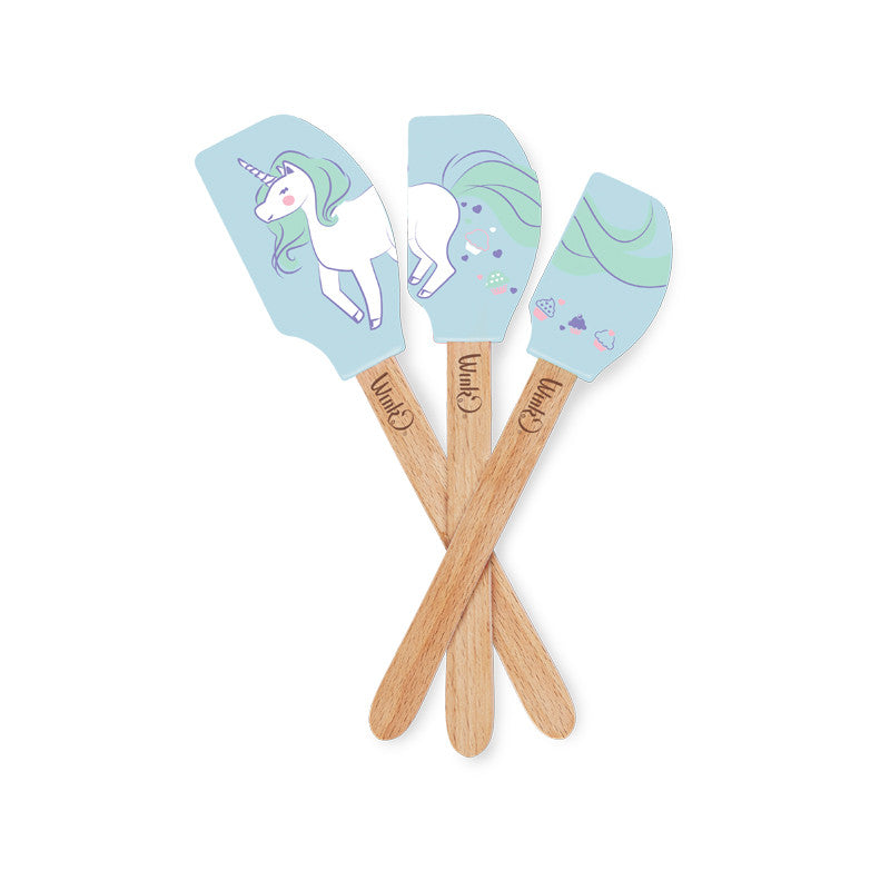 Unicorn Spatula Set