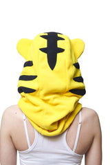Fierce Tiger Kigurumi Neckwarmer Hood
