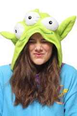 Little Green Man Kigurumi Onesie Sazac