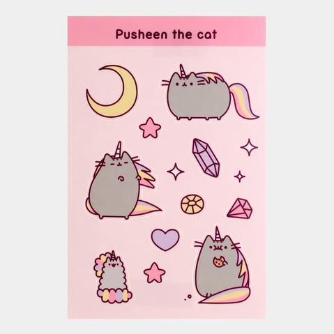 Pusheen the Cat Pusheenicorn Sticker Sheet