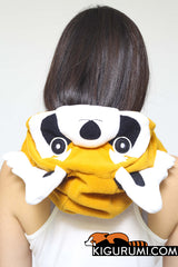 Red Panda Kigurumi Neckwarmer Hood Animal Costume Adult