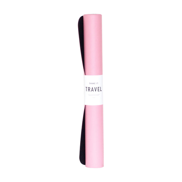 Travel Yoga Mat (Pink)
