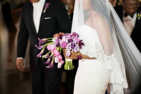 Chic Vibrant Purple Destination Wedding in Puerto Rico