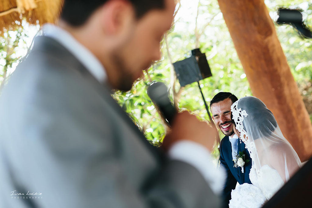 Catholic wedding ceremony in Mexico destination wedding