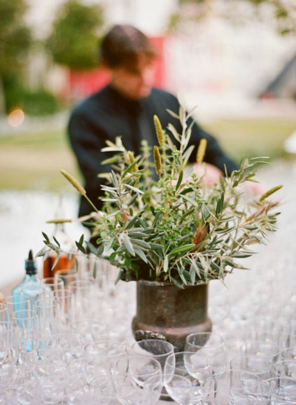 herbs at fancy wedding ways to avoid overspending