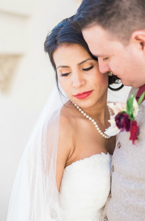 Elegant Latin Hacienda wedding spanish couple