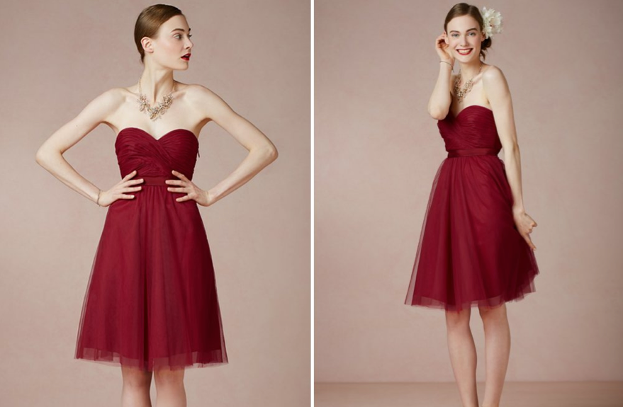 Bridesmaids Style: Seeing Red