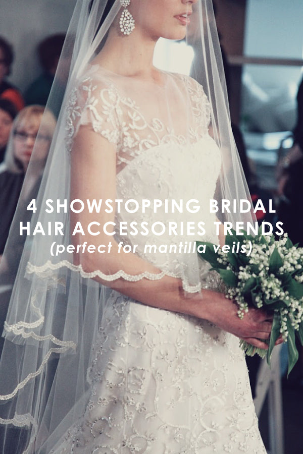 wedding hair accessory trends